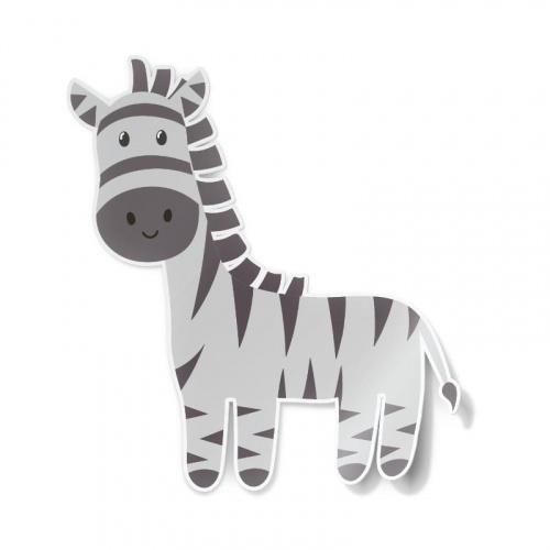 Adesivo Zebra felice