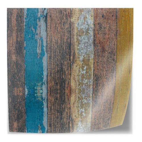 Adesivo da tavolo Legno colorato per ponteggi 2