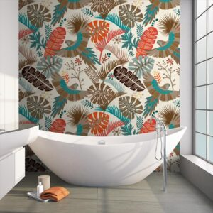 Wallpaper tropical pattern 2