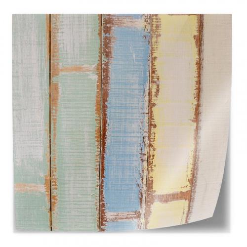 Adesivo da tavolo Legno colorato 3