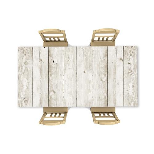 Adesivo da tavolo Luce del modello in legno 8