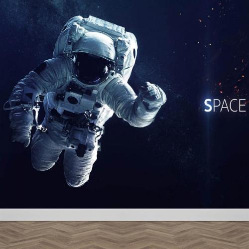 Carta da parati Astronauta nello spazio