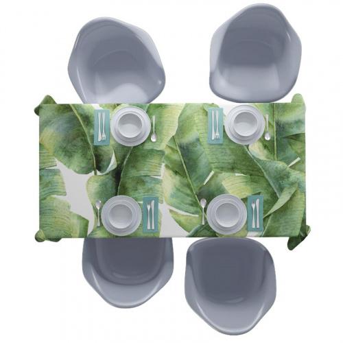 Tovaglia Modello foglie tropicali 5