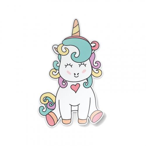 Adesivo Unicorno carino