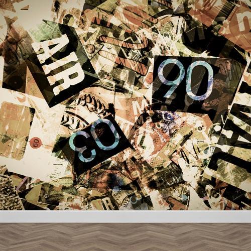 Carta da parati Grunge anni '90