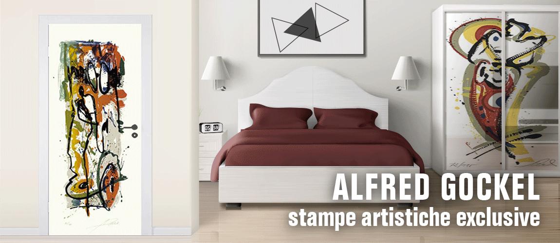 Alfred Gockel stampe d'arte