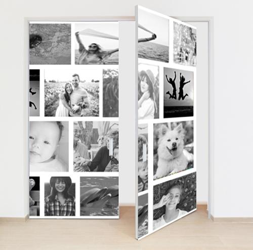 Adesivo per porte con le vostre immagini