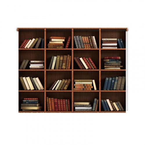 Tenda a rullo Libreria
