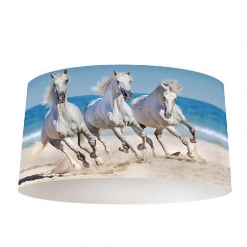 Paralume Cavalli sulla spiaggia