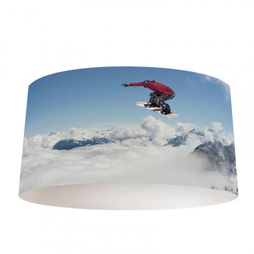 lampenkap snowboarden