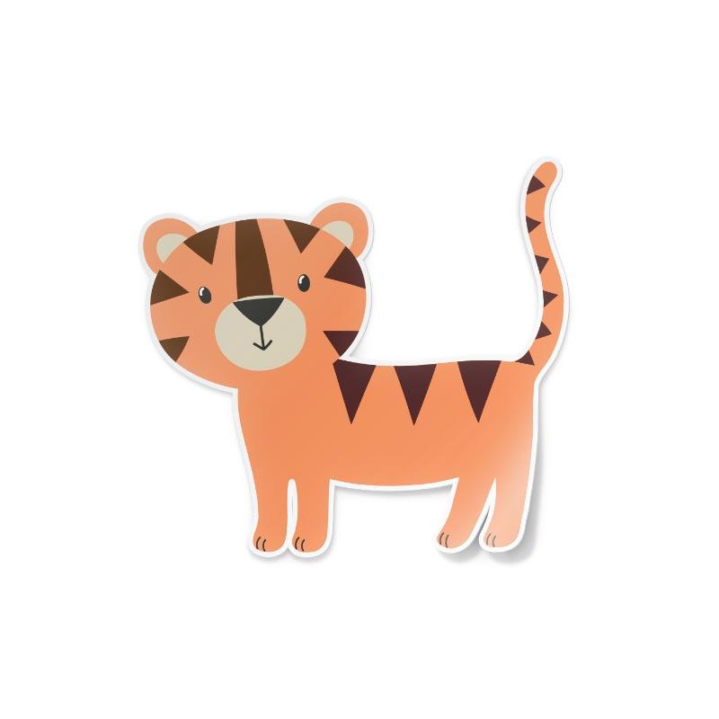 Adesivo Tigre disegnata