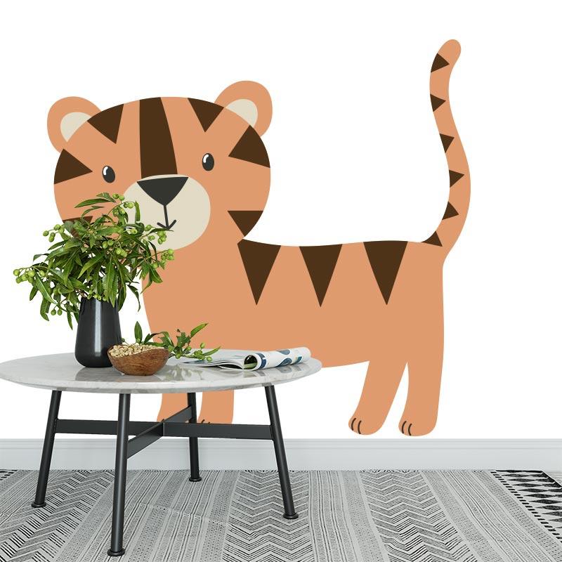 Adesivo Tigre disegnata 2