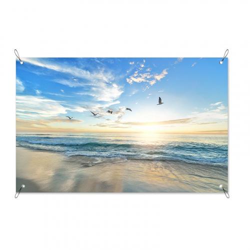 Poster da giardino Vista sul mare