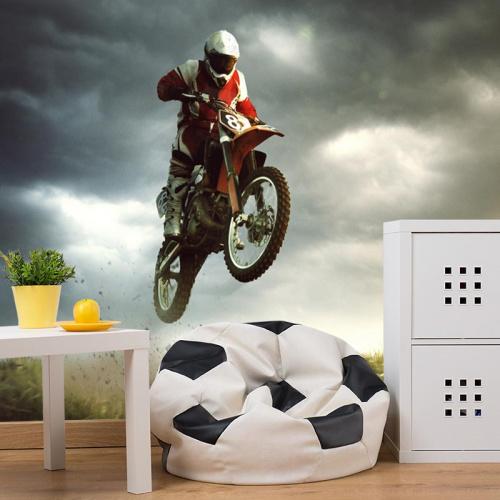Fotobehang motorcross