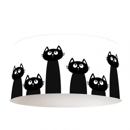 Paralume Gatti di fila