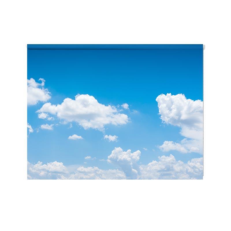 Tenda a rullo Nuvole calme
