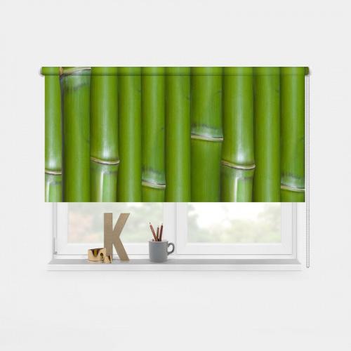 Tenda a rullo Bambù