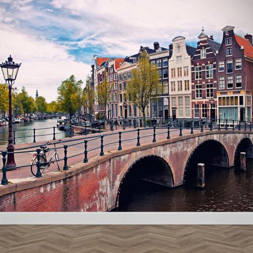 Carta da parati Canali da Amsterdam 1