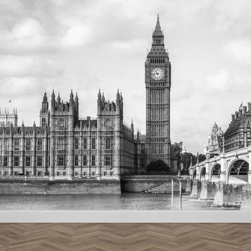 Carta da parati Londra blackandwhite