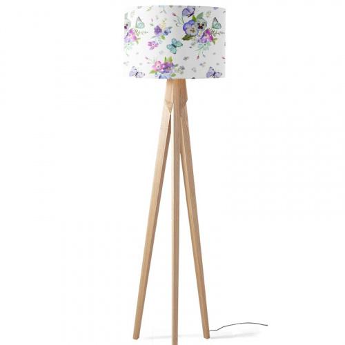 lampenkap vrolijk bloemen patroon