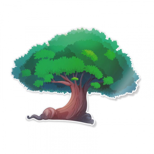 Adesivo Grande albero