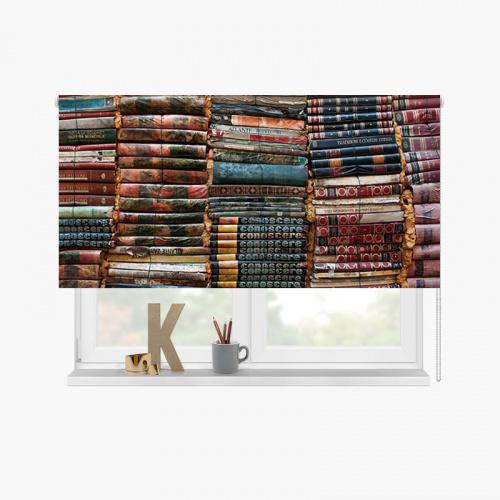 Tenda a rullo Topo di biblioteca