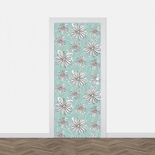 deursticker Margrieten patroon