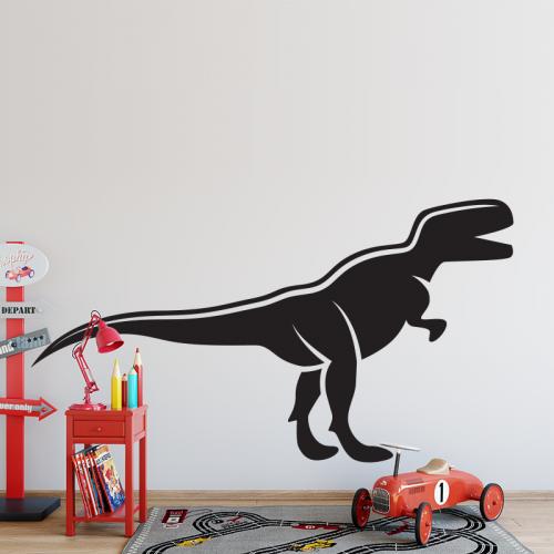 Adesivo Dinosauro bianco e nero 3