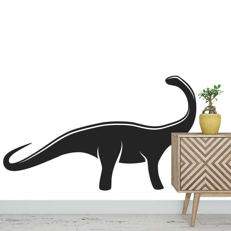 Adesivo Dinosauro bianco e nero 2
