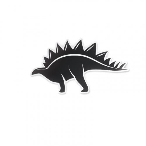 Adesivo Dinosauro in bianco e nero 1