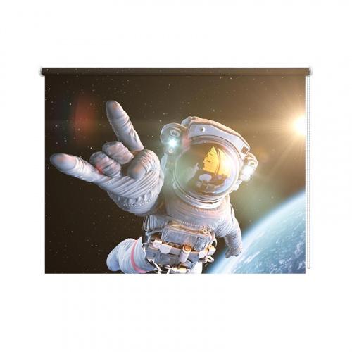 Tenda a rullo Selfie astronauta