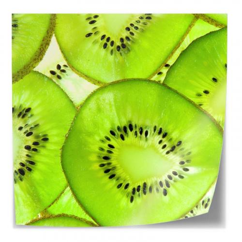 Adesivo da tavola Fette di kiwi