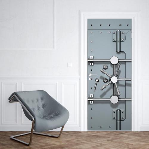 Adesivo per porte Porta sicura 2