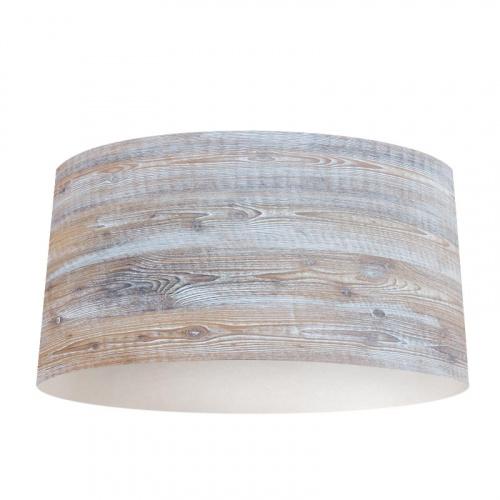 Paralume Bianco in legno lavato