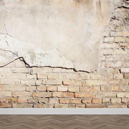 Carta da parati Muro di mattoni modello 2