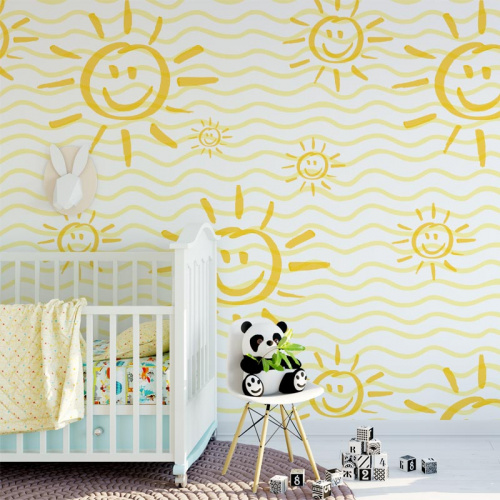 Wallpaper Sun in the house