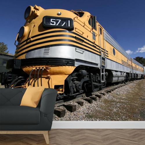 Carta da parati Treno americano