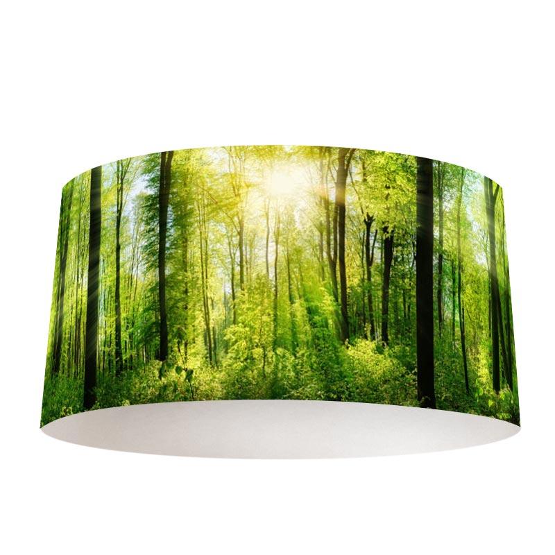 Paralume Sole nella foresta