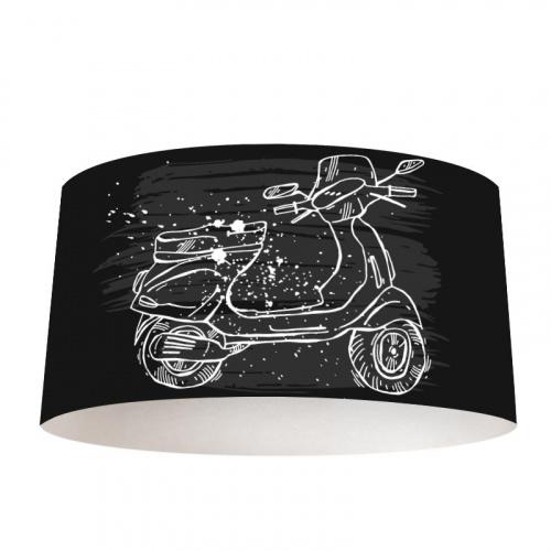 Lampenkap op de scooter