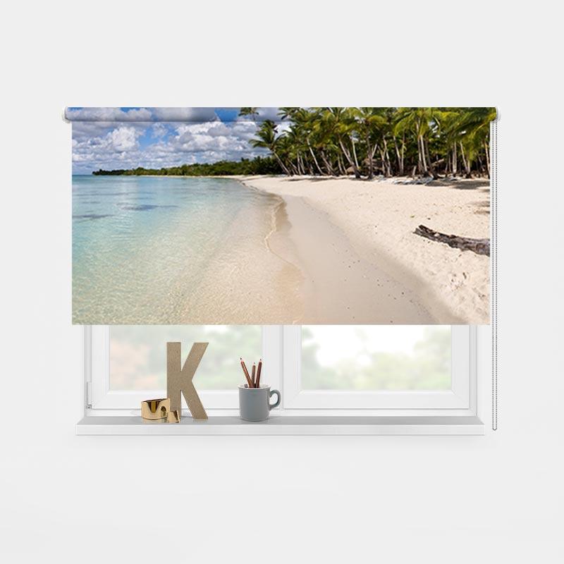 Tenda a rullo Isola tropicale
