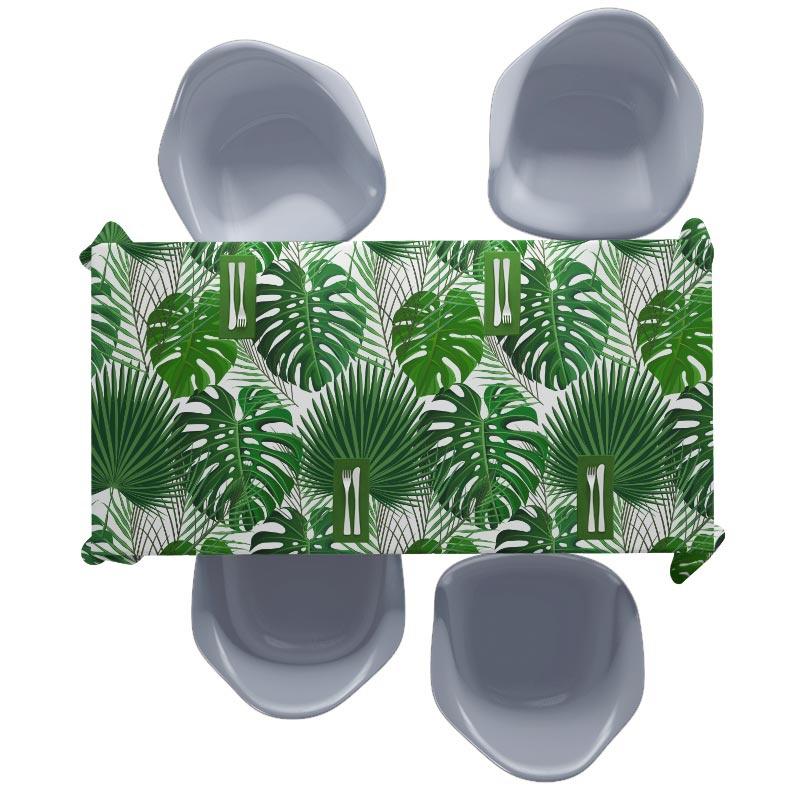 Tovaglia Modello di foglie di palma