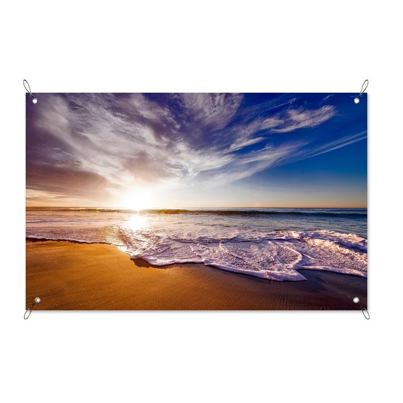 Poster da giardino Spiaggia al sole
