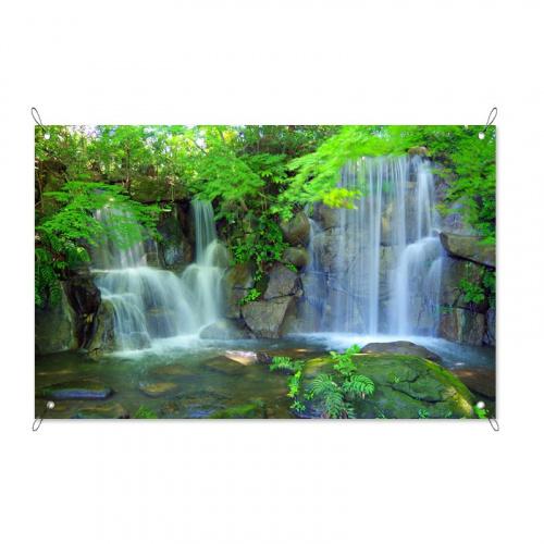 Poster da giardino Duo cascade