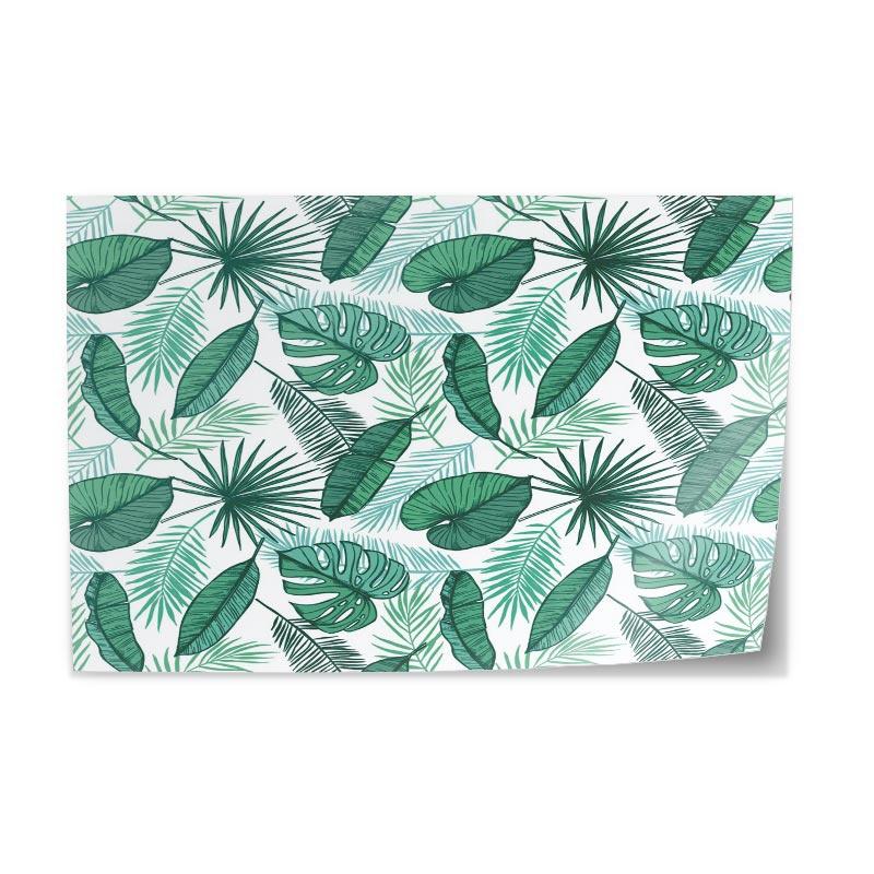 Adesivo da tavolo Foglie di palma
