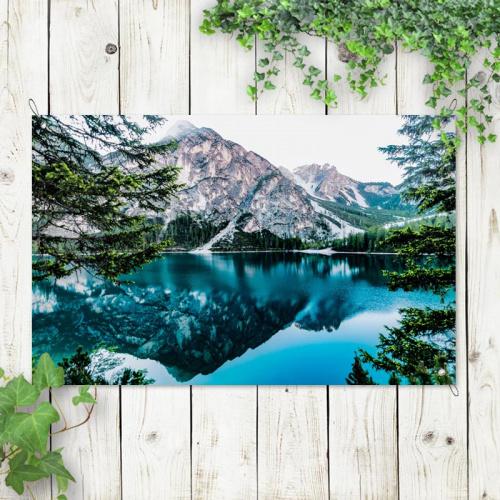 Poster da giardino Lago di montagna