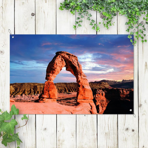 Poster da giardino Arco in pietra