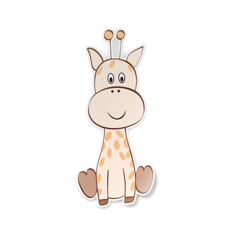 Adesivo Giraffa disegnata