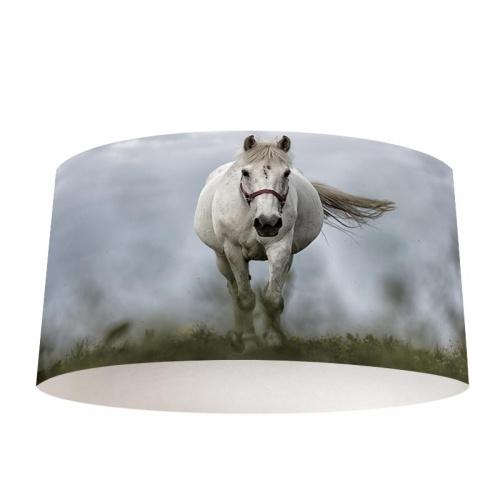 Lampenkap Wit paard