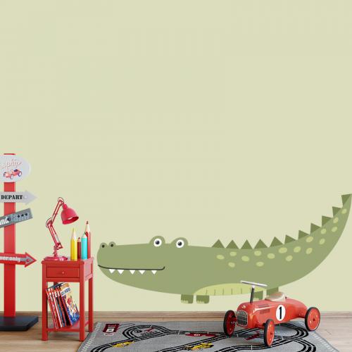 Adesivo Coccodrillo disegnato