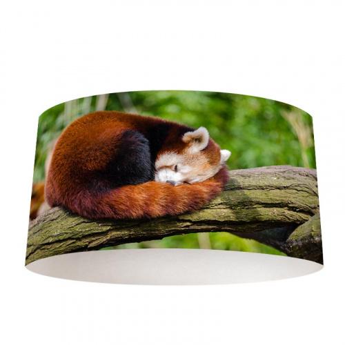 Paralume Panda rosso